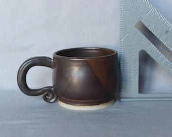 Small Brown Soup/Coffee Mug