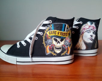 81970e1da4a534 Hand-painted sneakers