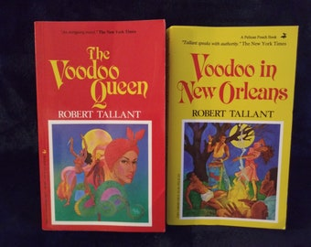 The Voodoo Queen and Voodoo in New Orleans-One Set of Two Books~Shop and SAVE-Ask to combine book orders
