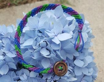 Thick Striped Bracelet