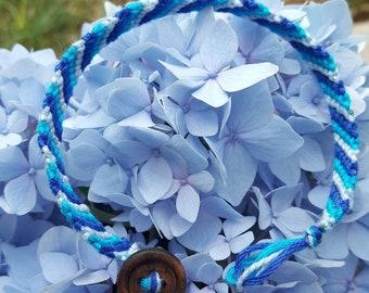 Blue Ombre Bracelet