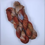 Copper Penny BFL Hand-dyed Sock Yarn
