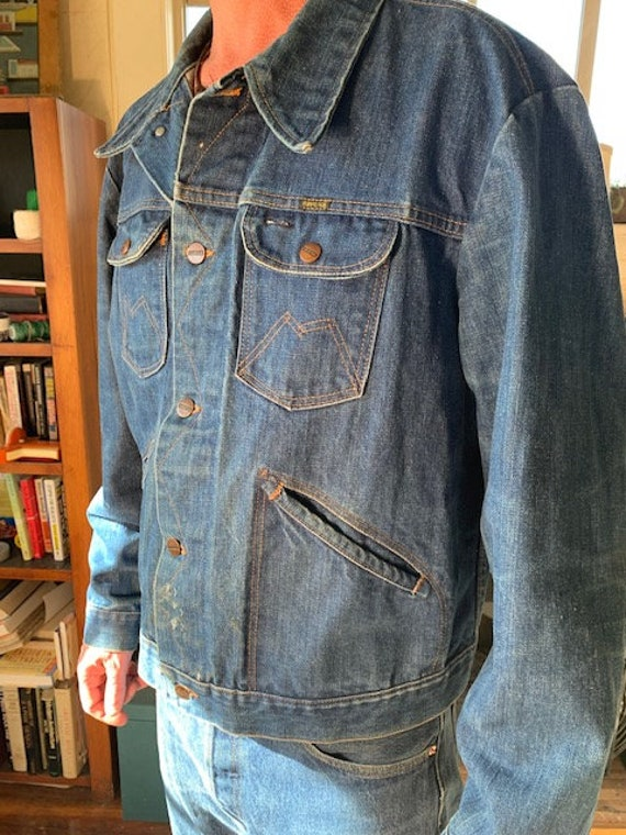 Vintage 1970s Maverick Denim Jacket