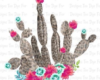 Leopard Cactus T-Shirt