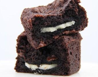 1 Dozen Oreo Stuffed Brownies