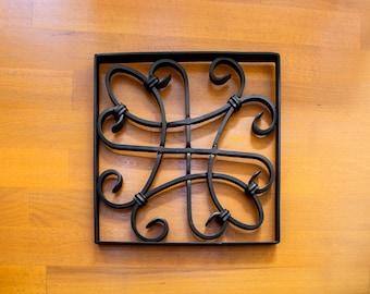 Wrougth Iron Wall Decor- The Knot