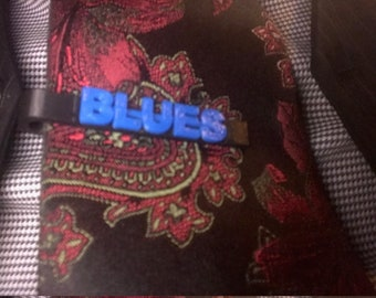 Blues Tie Clips