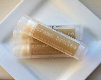 Creme Brûlée Vegan Lip Balm