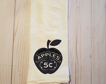 Apples Kitchen Tea Towel