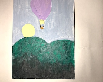 Hot air ballon painting|ONLY ONE!!!