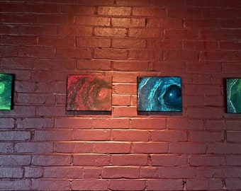 Galaxy spray paint