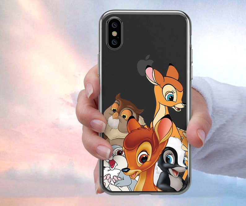 coque iphone 8 bambi