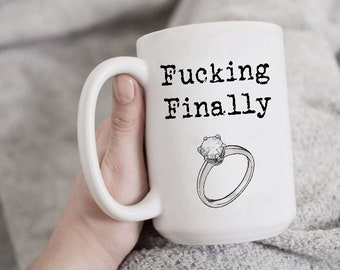 b8195de1be2e0 Funny Engagement Mug
