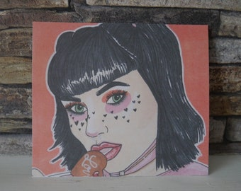 Love Candy Pro Marker Print