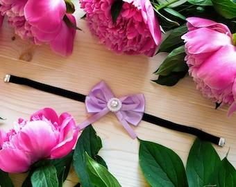 Romantic 3 color options Choker/Black Ribbon Choker/Purple Bow Choker/Purple Bow Ribbon Choker/Sweet Lolita Bow Choker/Sweet Lolita Choker/