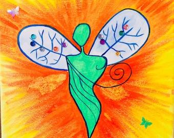 Nature Healing Angel