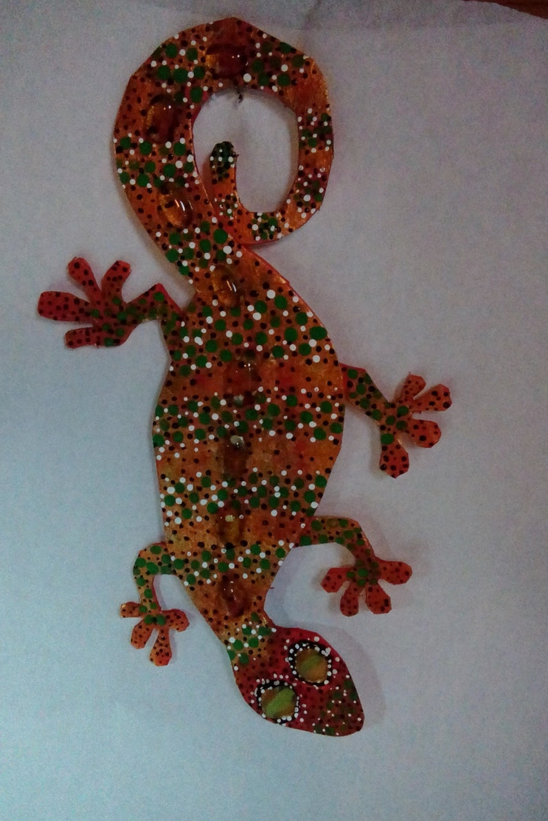 Fantasy Gecko Fun Little Guy Indoor Only Please Etsy