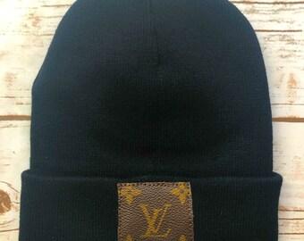 4dd0ab4c6a0 Reworked Authentic Louis Vuitton beanie