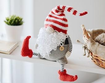 Scandinavian Gnome Christmas Crochet Pattern