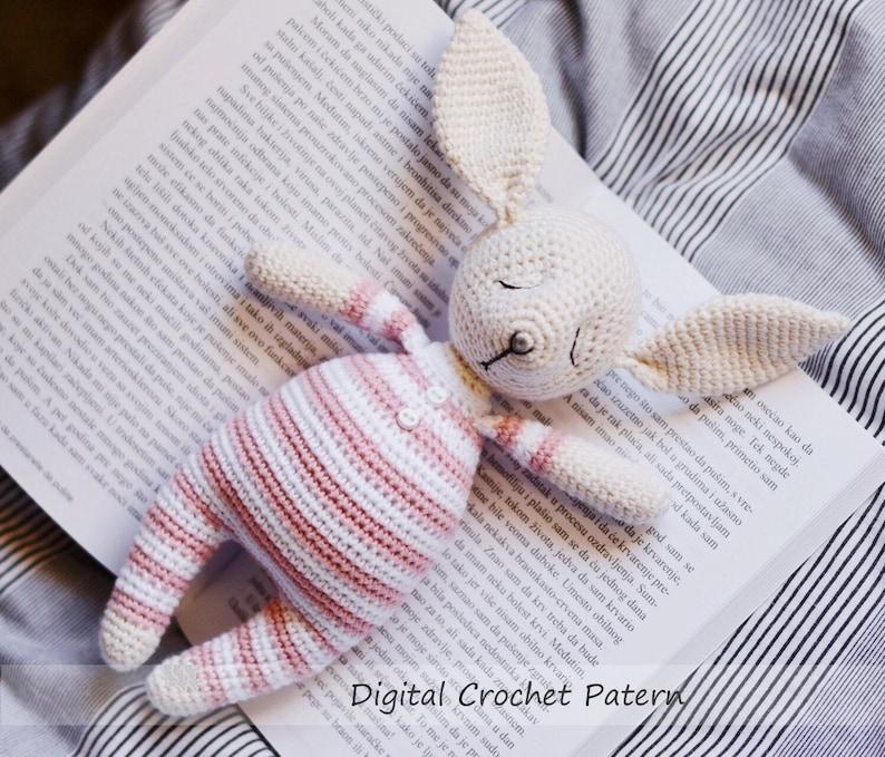 Bunny crochet pattern plush. Easter rabbit. Animal rabbit toy ...   679x794