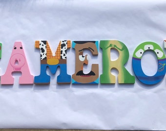 Toy story letters | Etsy