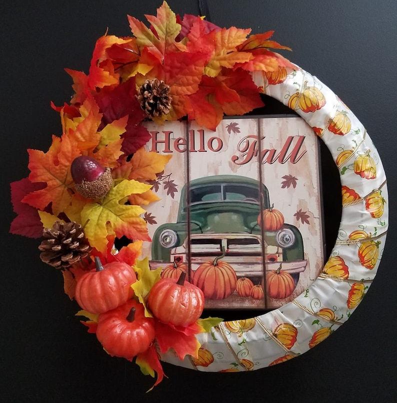 Hello Fall Wreath