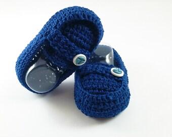 Baby Boy Crochet Loafer