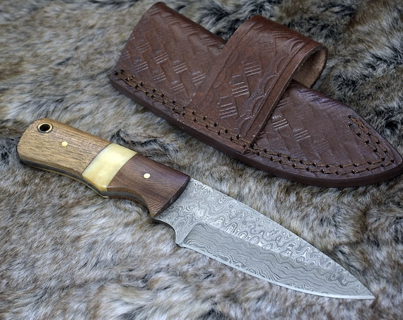 Damascus Knife, Damascus Steel Knife Mens father's day, birthday gifts for men gifts for husband gifts for boyfriend gifts for dad gifts him
