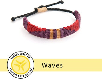 Waves handmade bracelet