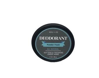 All Natural Deodorant Powder Fresh