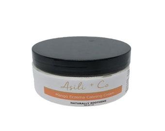Mango Eczema Calming Cream, All Natural Skin Care, Body Butter