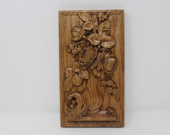 Wood carving flowers wooden by free wood carving flower patterns
