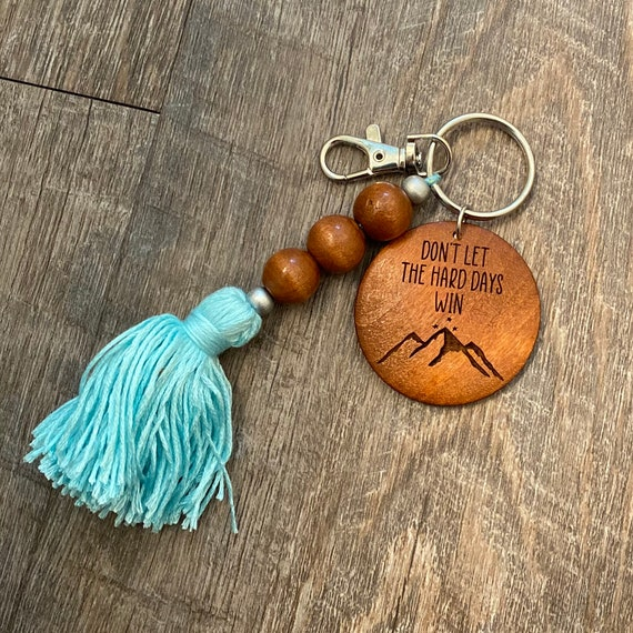 ACOTAR Wooden Keychain - Bookish Keychain