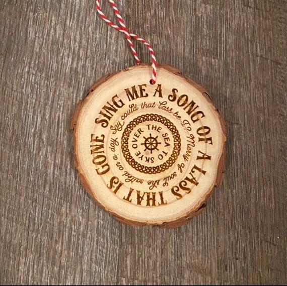 Outlander Ornament - Wood Slice Ornament