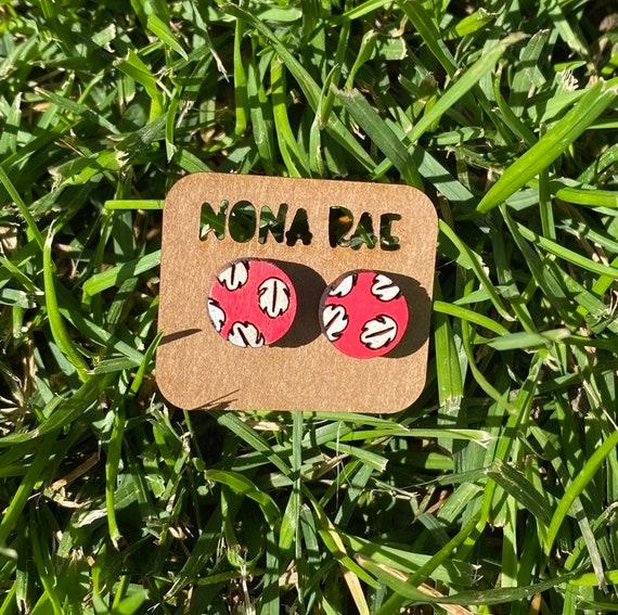 Character earrings - Hawaiian Earrings - Wooden Earrings - Fandom Earrings - Geeky Earrings - Laser Cut Earrings