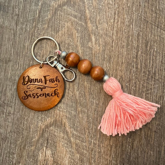 Outlander Wooden Keychain - Bookish Keychain