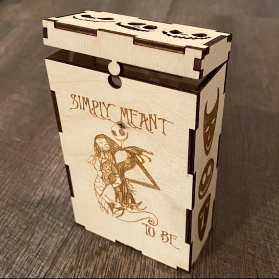NBC Wooden Tarot Card Box