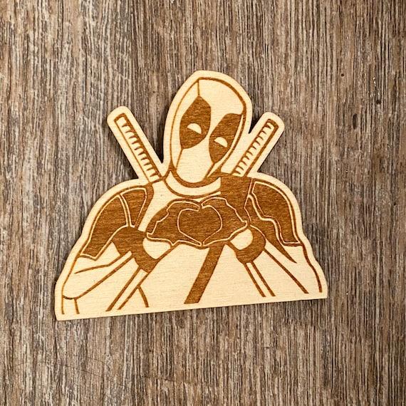 Superhero Wooden Magnet