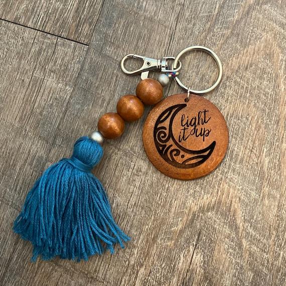 Crescent City Wooden Keychain - Bookish Keychain
