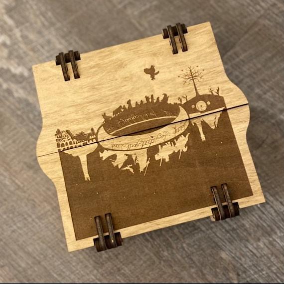Adventure Wooden Trinket Box