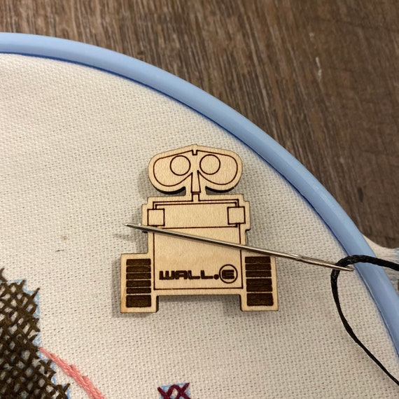Space Fandom Needle Minder - Wooden Needle Minder - Magnetic Needle Minder