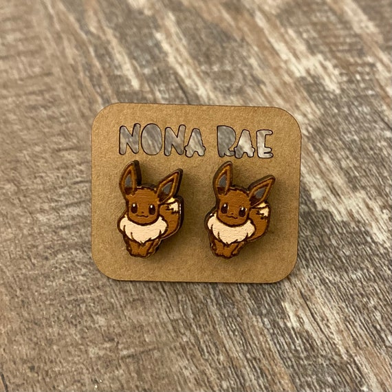 Video Game Earrings - laser cut earrings - wooden earrings- geeky earrings