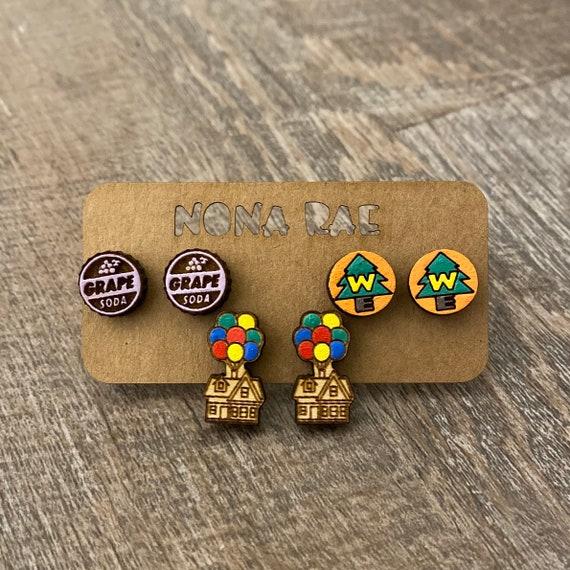 Adventurers earrings 3 pack - geeky earrings - fandom earrings