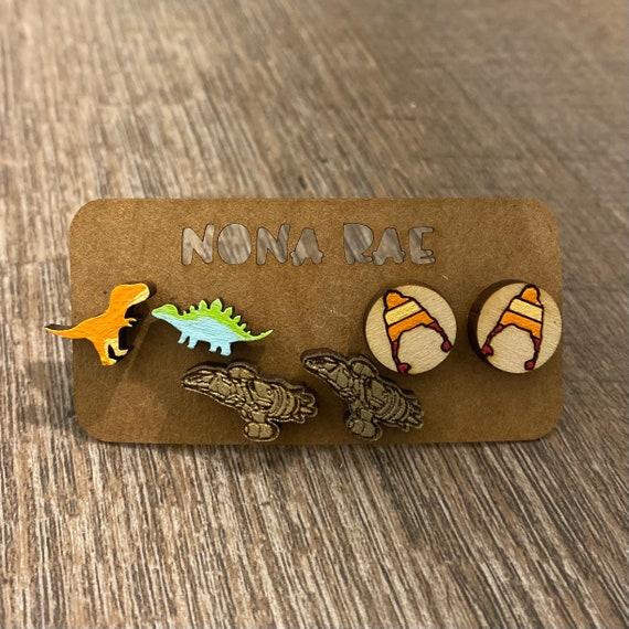 Space earrings 3 pack