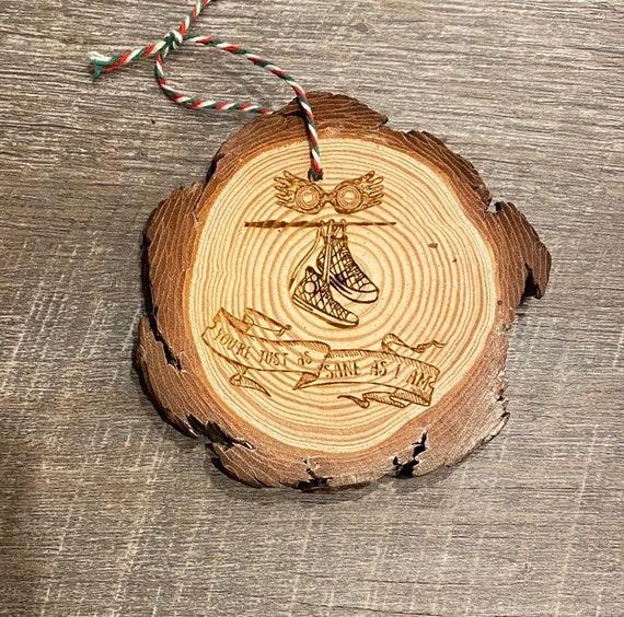 Wizard Ornament - Fandom Ornament- Geeky Ornament
