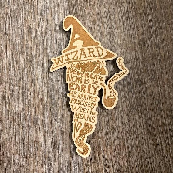 Wizard Wooden Fandom Magnet