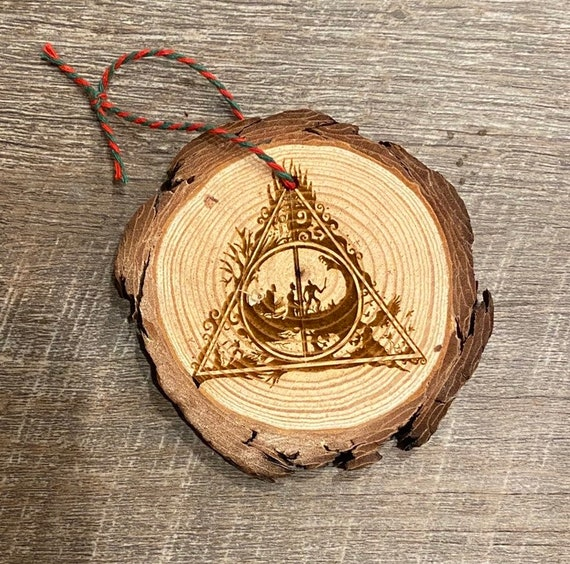 Wizard Ornament - Fandom Ornament - Geeky Ornament