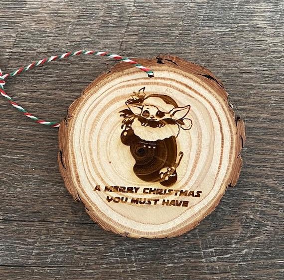 Fandom Slice Ornament - geeky Christmas ornament