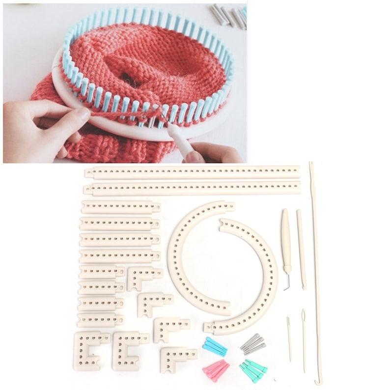 Knitting board loom kit tools DIY multi-function yarn craft for scarf hat socks