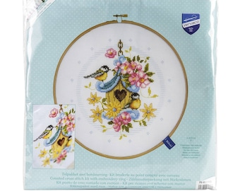 Our New Bird House - Counted Cross Stitch Kit - Vervaco 0151950